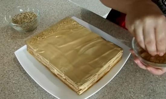 Торт без выпечки из печенья рецепты с шоколадом, творогом, зефиром на 8 марта