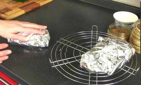Форель запеченная в духовке