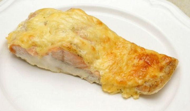 Горбуша запеченная в духовке с сыром рецепт с пошагово в духовке