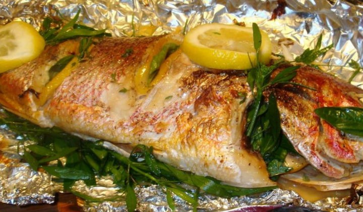 приготовление рыбы в духовке рецепты с фото