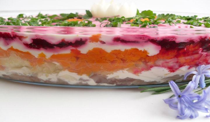 как приготовить салат под шубой классический рецепт