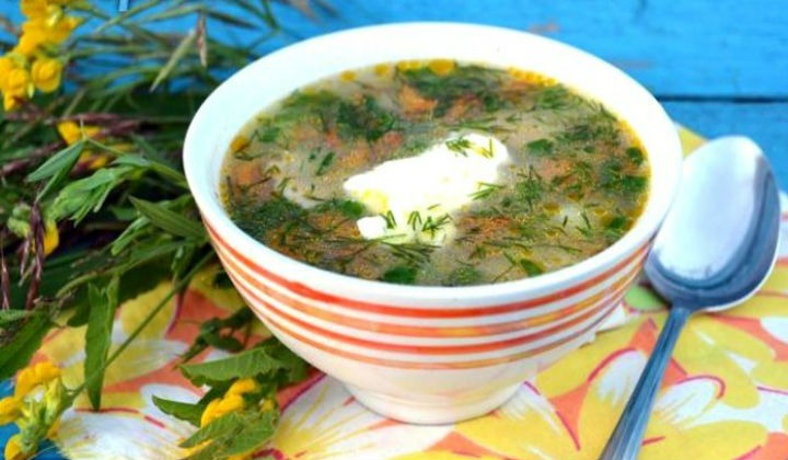 суп с грибной рецепт с фото пошагово в