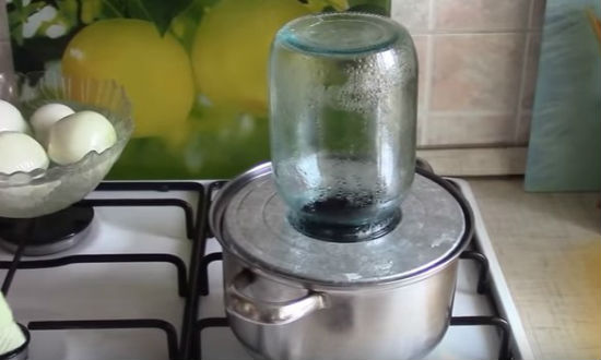 we sterilize jars