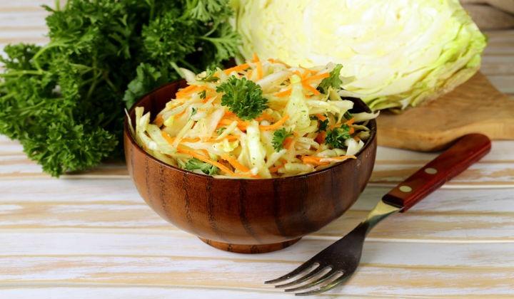 Салат из свежей капусты. 9 рецептов вкусных капустных салатов