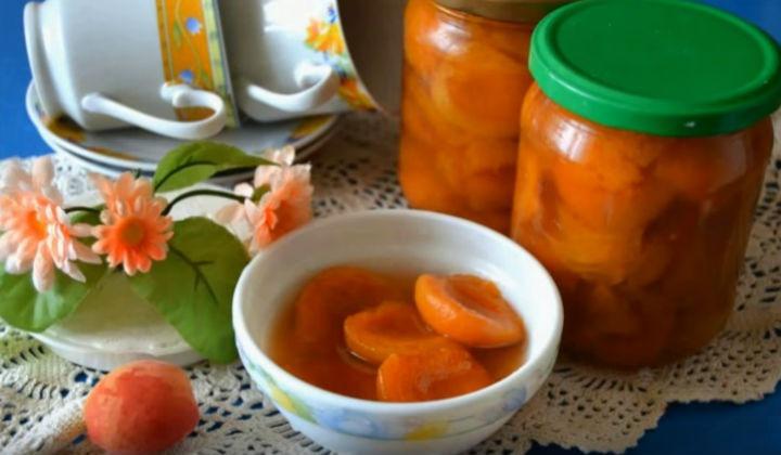 Варенье из абрикосов, рецепты дольками