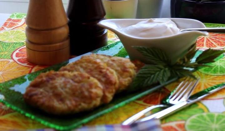 Блюда из кабачков - греческие котлеты