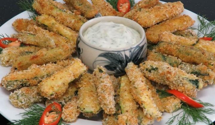 блюда из кабачков, рецепт с сыром в духовке