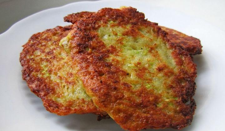 Рецепт картофельных драников с кабачками