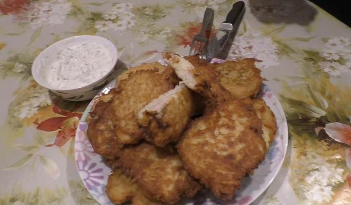 Рецепт картофельных драников по-белорусски