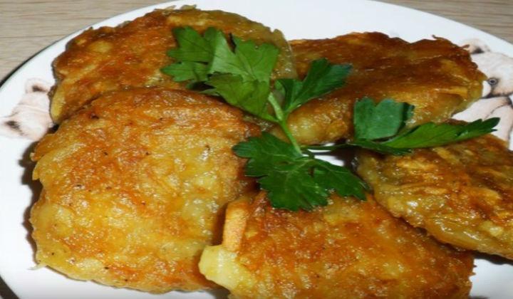 Рецепт картофельных драников без яиц