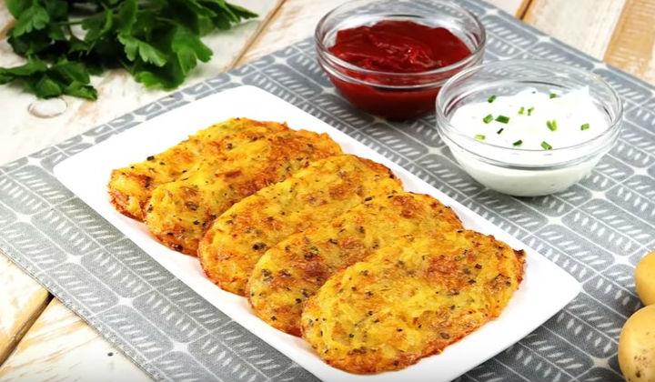 Вкусные драники из картошки с сыром рецепт пошагово