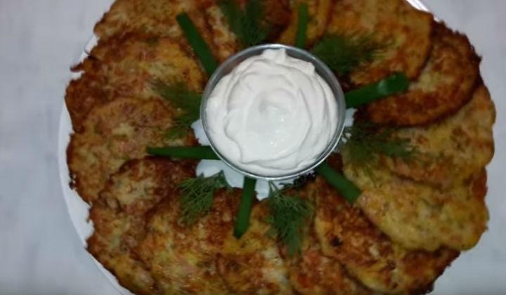 Рецепт картофельных драников с сыром