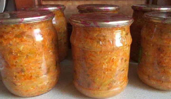Рецепт икры из кабачков вкусный домашний рецепт с фото пошагово блендером