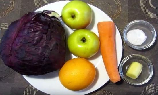 Продукты для засолки капусты