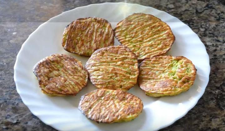 Оладьи из кабачков, рецепт в духовке