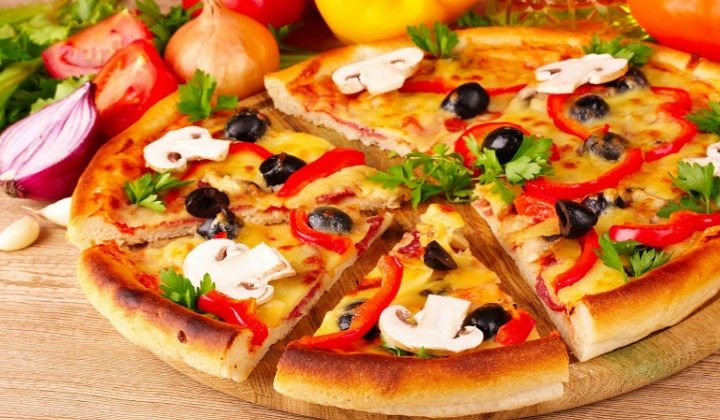 Тесто на пиццу быстро