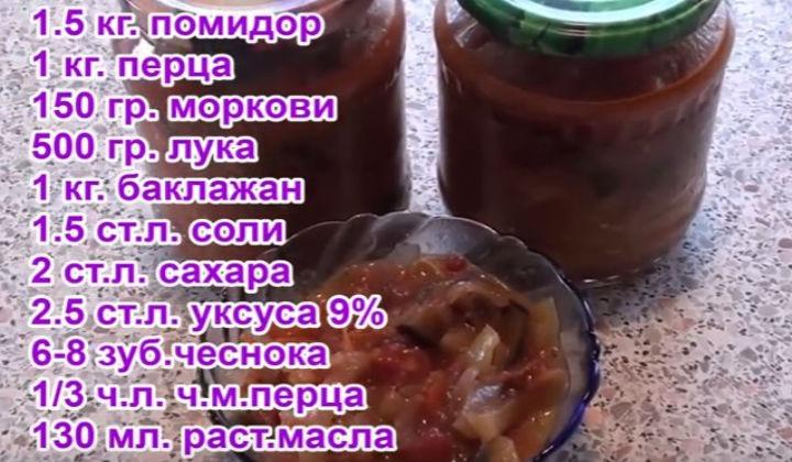 Ингредиенты для салата Манжо