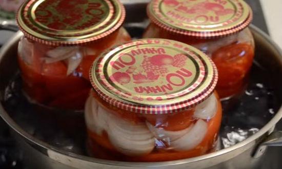 Пастеризуем салат