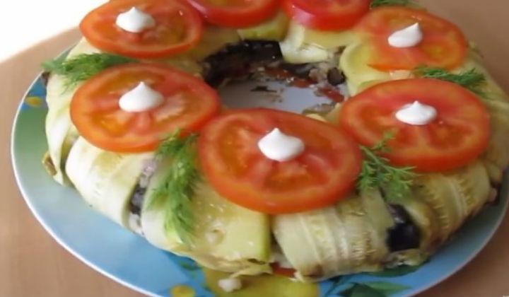 запеканка из кабачков в духовке рецепты с помидорами