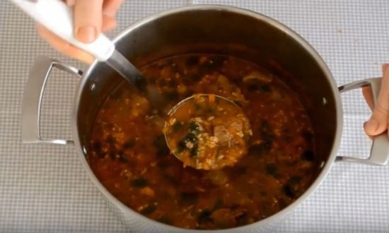 Суп харчо. Рецепты приготовления в домашних условиях
