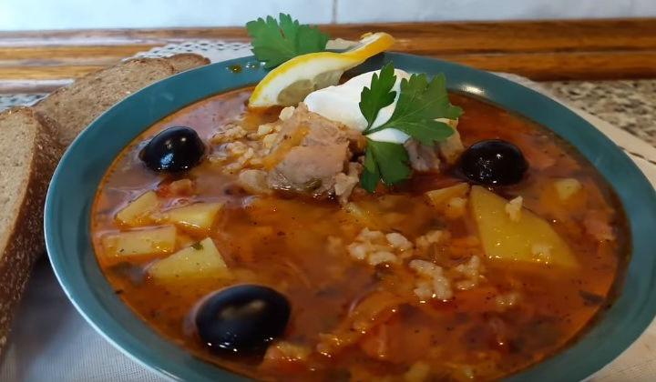 Рецепт суп харчо из свинины в домашних условиях 315