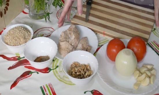 Ингредиенты для супа
