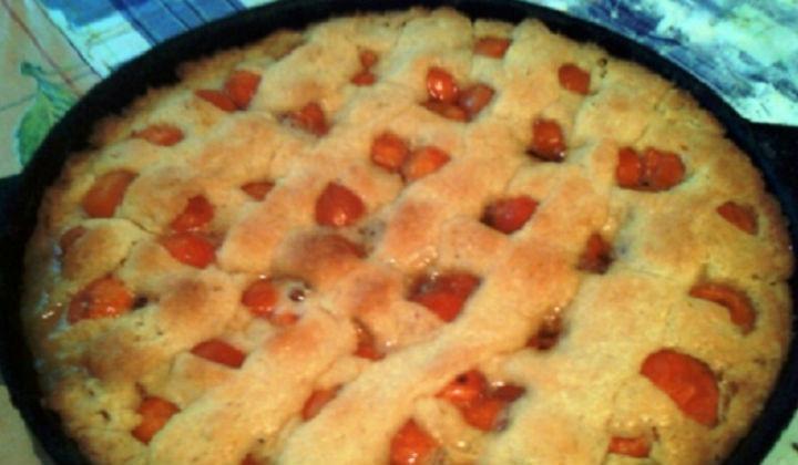 Простой рецепт абрикосового пирога