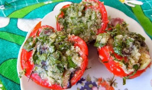 готовое блюдо из помидор