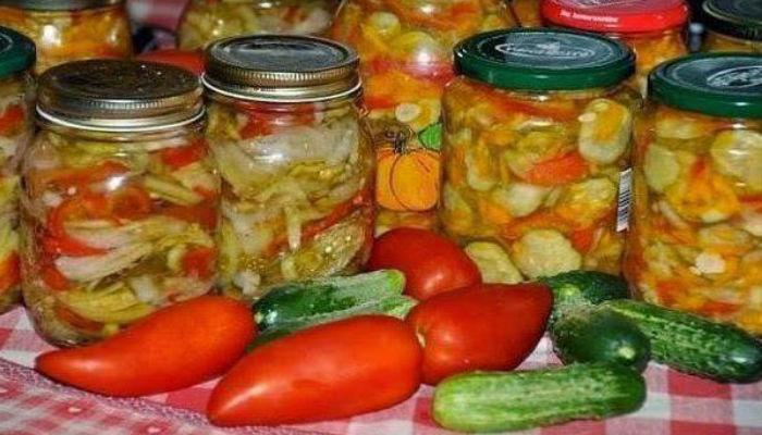 Салат из огурцов на зиму, пальчики оближешь. Самые вкусные рецепты без стерилизации