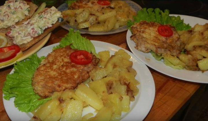 Рецепт вкусного ужина из курицы