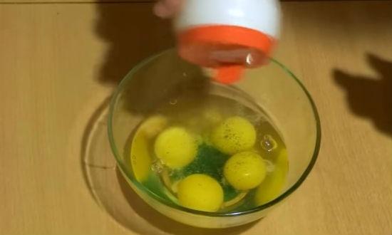 готовим заливку