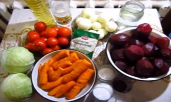 Борщевая заправка на зиму, рецепты со свеклой, морковью и капустой
