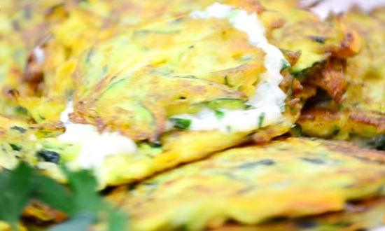 Вкусные оладьи из кабачков