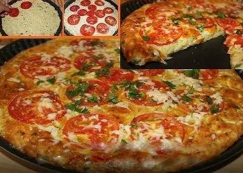 Пицца простые рецепты в домашних условиях