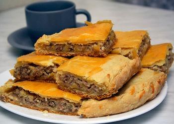 Пироги с мясом