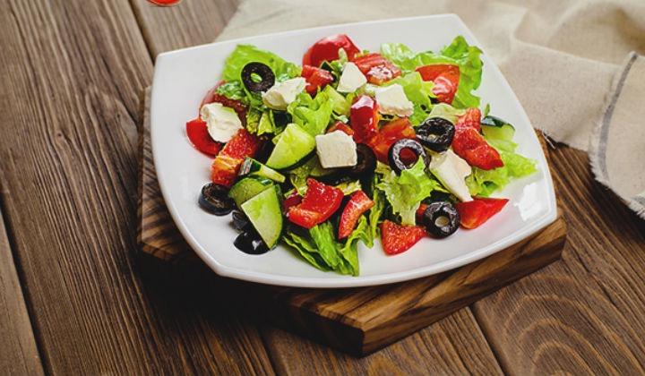 рецепт греческого салата с сыром сиртаки рецепт