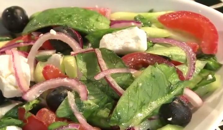 Салаты греческий рецепты простые в