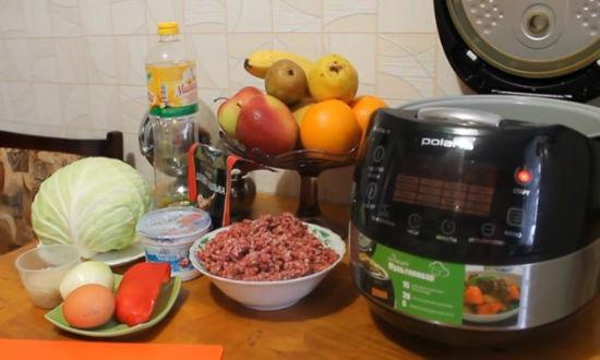 фарш для голубцов с рисом и мясом простой рецепт