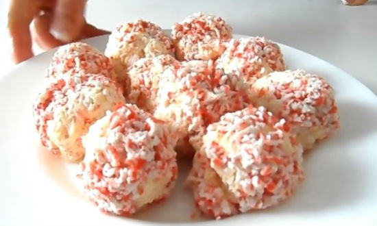 Салат Крабовые шарики