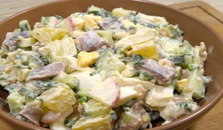 Рецепты салатов простые и вкусные из курицы и ананасов 199