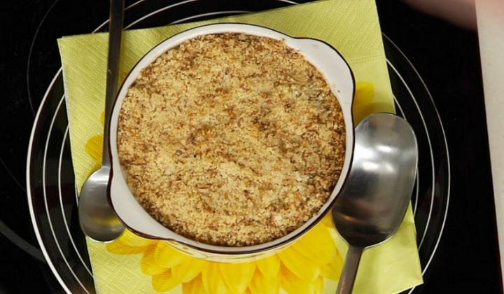 Утренний яблочный пирог