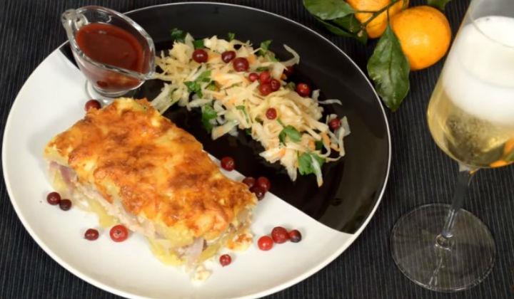 Блюдо с картошкой домашних условиях