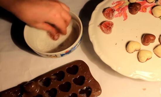 Шоколад с печеньем своими руками фото 341