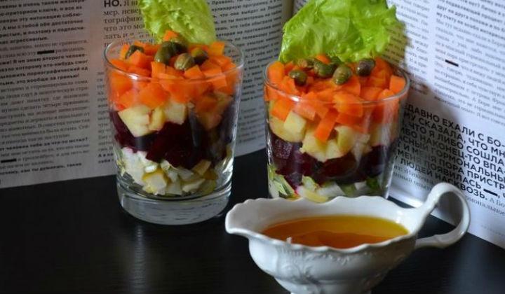 Новые рецепты винегрета