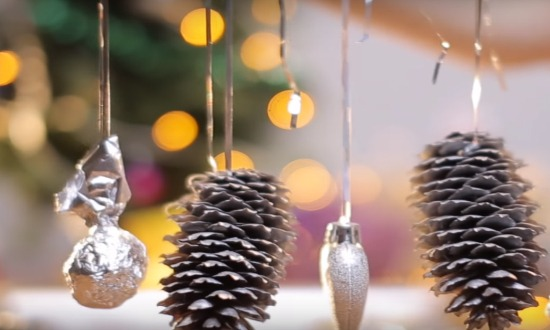 How to decorate an apartment for the new year 2019 with your own hands. Decoration of paper and scrap materials