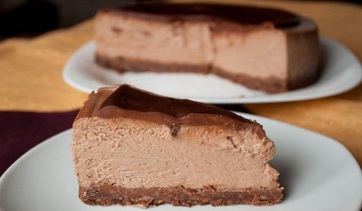 Творожно-шоколадный чизкейк