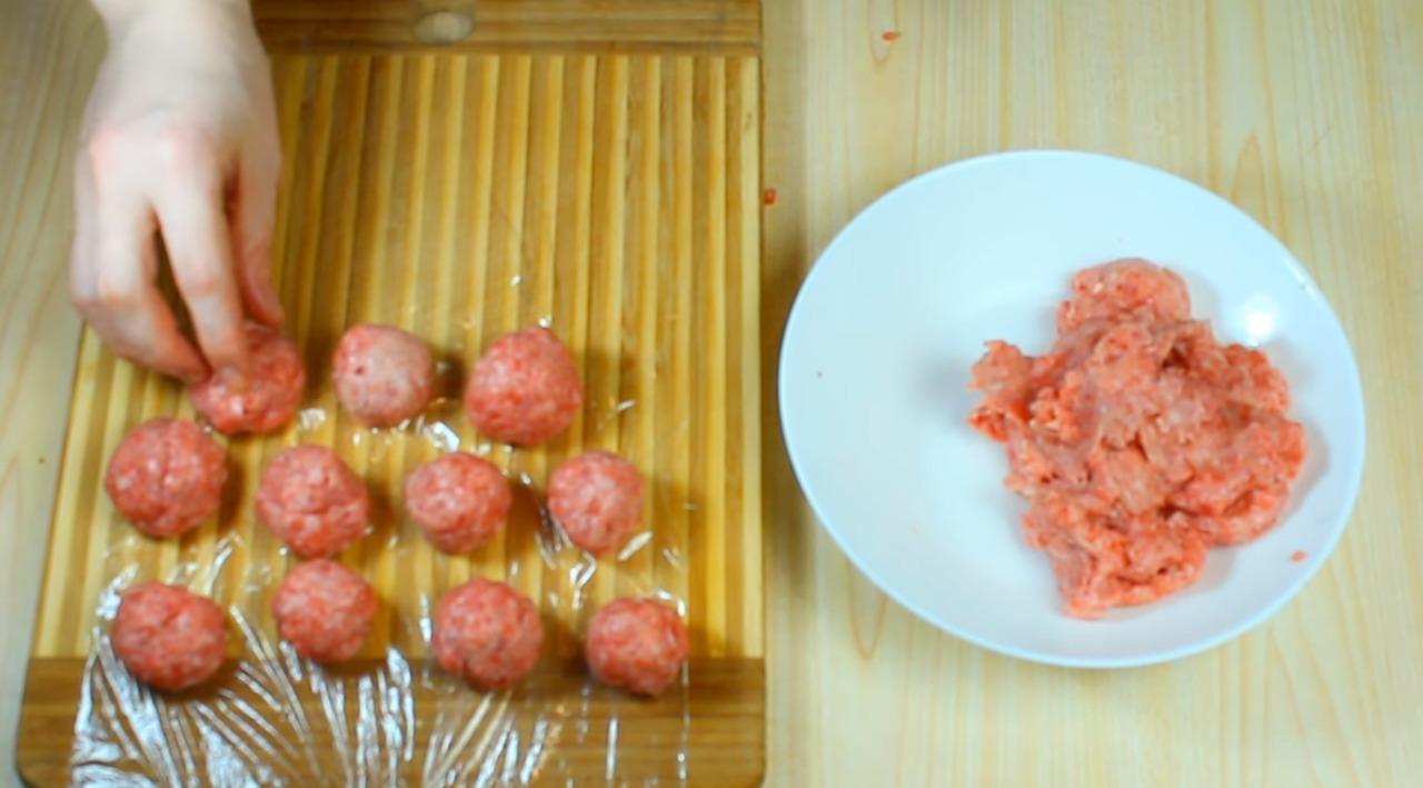 minced meatballs