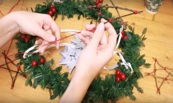 ленты и нитки для звезд