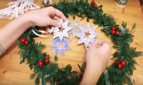 stars from salt dough