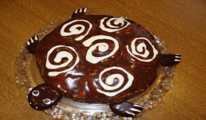 торт черепаха со сгущенкой